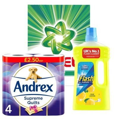 Household Cleaning & Paper