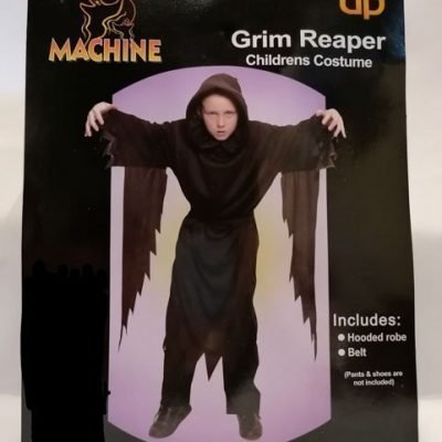 Children's Grim Reaper with Belt Black