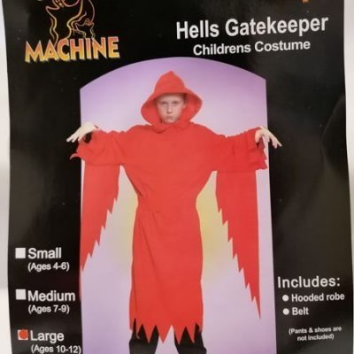 Grim Reaper with Belt Red