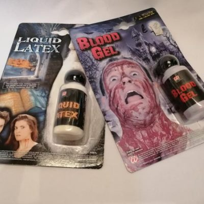 Latex and Horror Blood